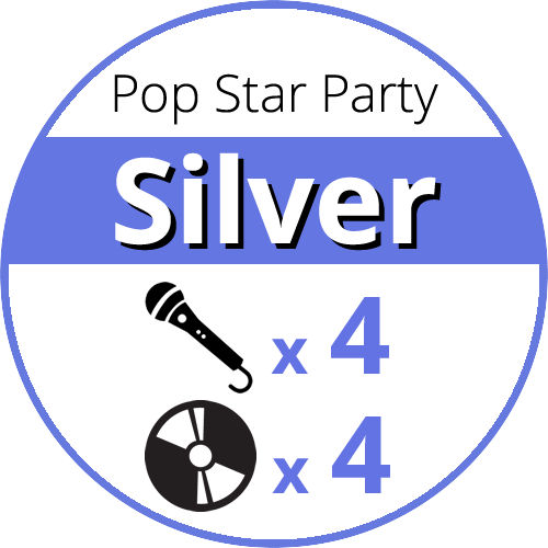 Pop Star Party Silver price