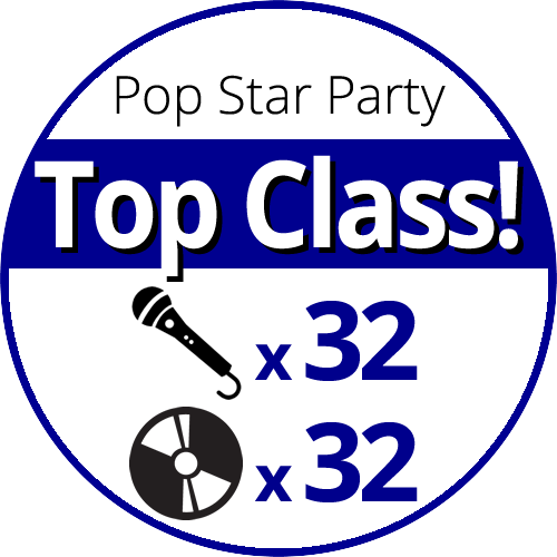 Pop Star Party Top-Class price